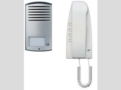 Btcino audio egylakásos kaputelefon szett kézibeszélővel