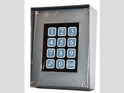 DP100 Kódzár esővédővel