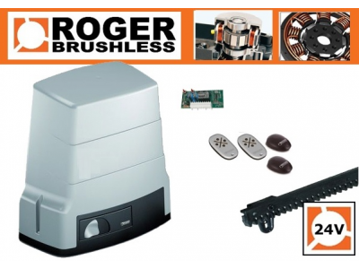Roger Brusshless tolómotor szett 600 kg-ig