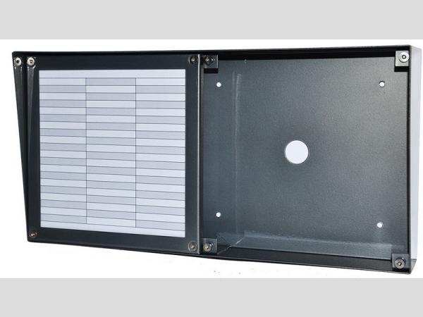 DP3000 központhoz esővédő nagy névtáblával vízszintes