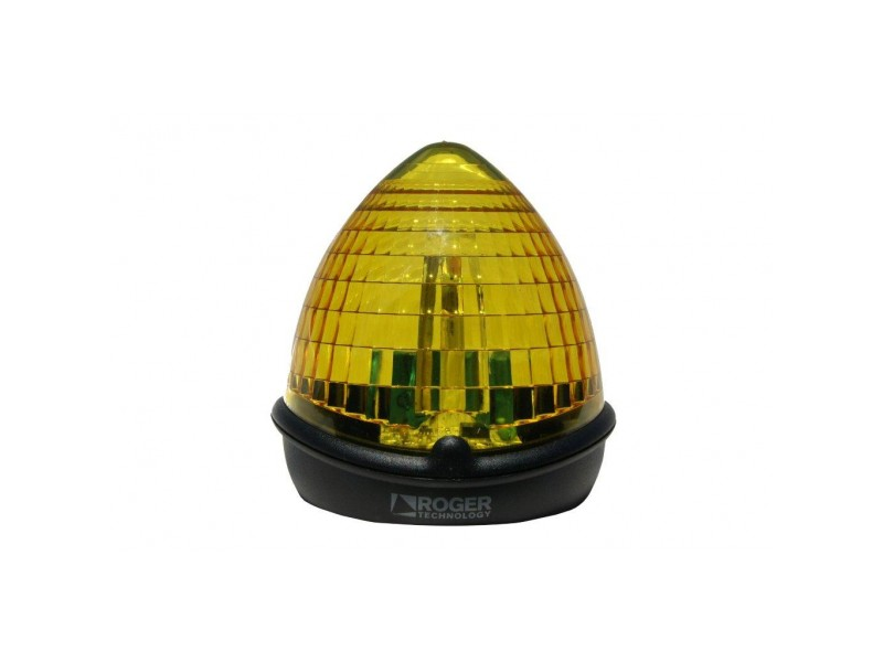 LED villogó sárga lámpa